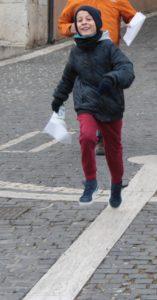 vincitore gara Orienteering